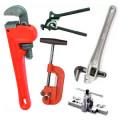 Сантехнические инструменты, разводные ключи, фум лента