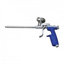 """Пистолет для монтажной пены """"X-PERT"""" (металл) (Синяя пласт рукоять)/80 шт"""