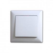 Выключатель одинарный внутренний (цвет белый)/720 шт